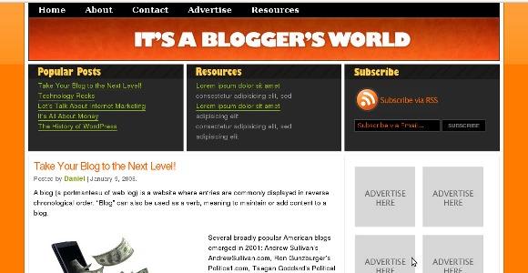 Daily 32 WordPress Theme