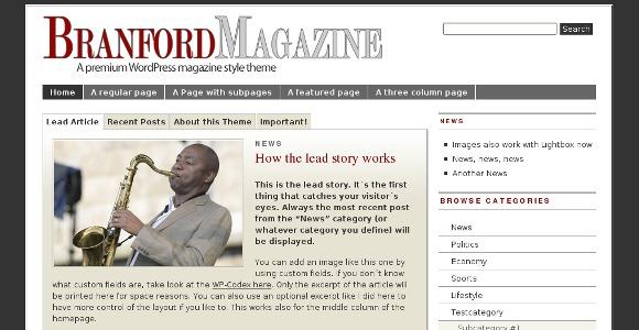 Branford WordPress Theme