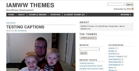 I Am Ww WordPress Theme