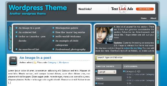 Langit WordPress Theme