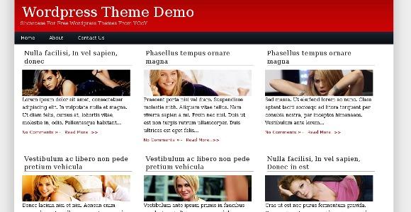 Magadine WordPress Theme