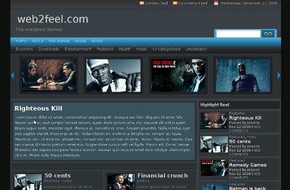 Remedy WordPress Theme