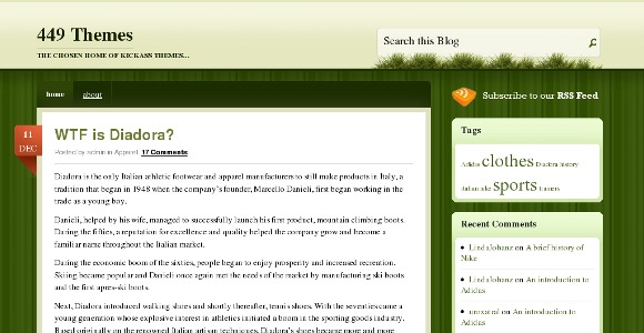 Spring Loaded WordPress Theme