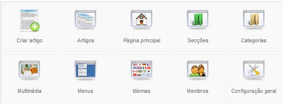 Joomla - Menu Visualização Padrão De Artigos