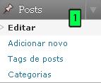 Editar Posts
