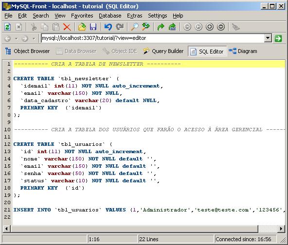 Sistema De Newsletter Em PHP e MySQL