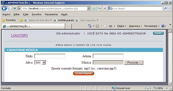 Player De Música Em PHP Imagem038