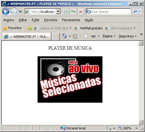 Player De Música Em PHP Imagem053