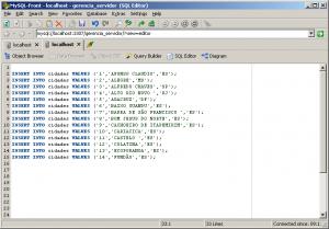 MySQL – Inserção De Dados