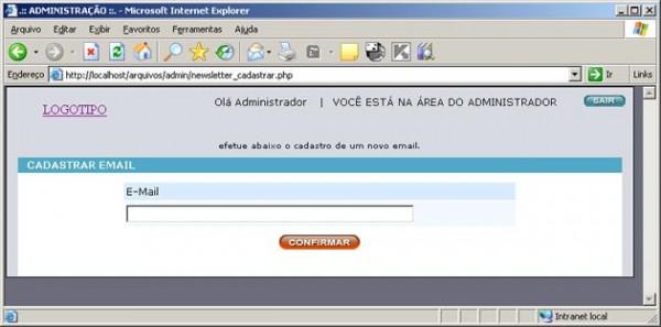 Registar Email