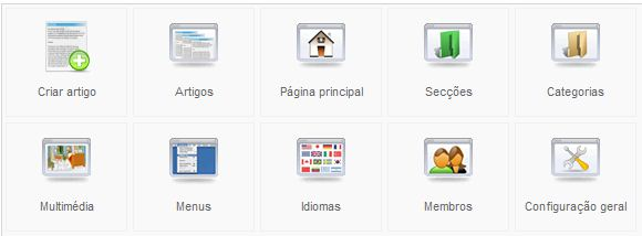 Joomla - Menu Contactos - Contactos Por Categoria