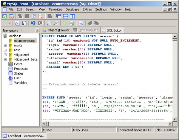 MySQL - Configuração MySQL No IIS Para ASP