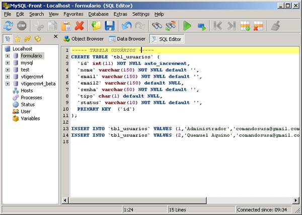 MySQL - Conheça O Show Columns
