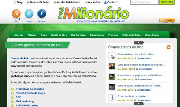 Entrevista Com O WebMilionario