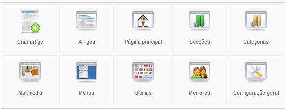 Joomla - Menu - Usuários