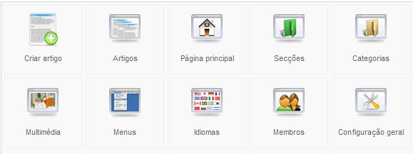 Joomla - Menu - Favoritos Web Parte1
