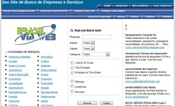 Diretório Brasil Via Web