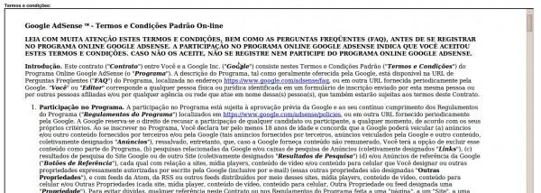 Conheça O Google Adsense Parte 6