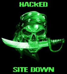 Mensagem de Hacked
