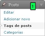 WordPress - Administração Das Tags
