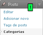 WordPress - Administração Das Categorias