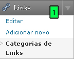 WordPress - Widget Links Parte 3