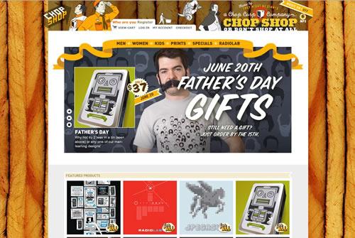 loja online chop shop