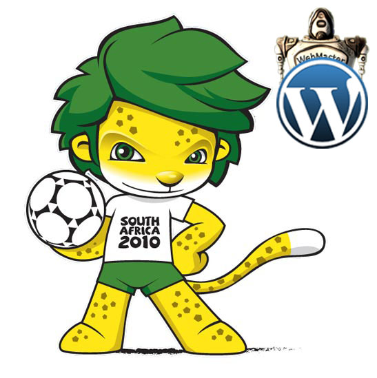 WordPress Themes - Copa do Mundo 2010