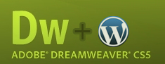 Dreamweaver CS5 Suporta WordPress