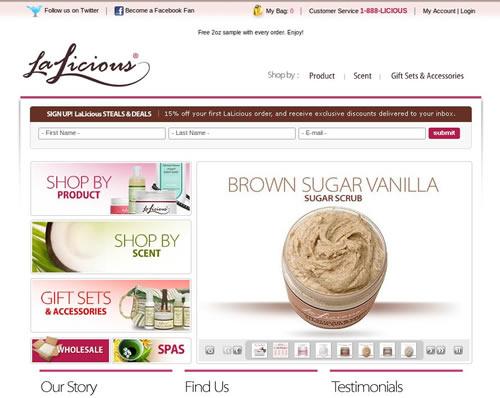 loja online LaLicious