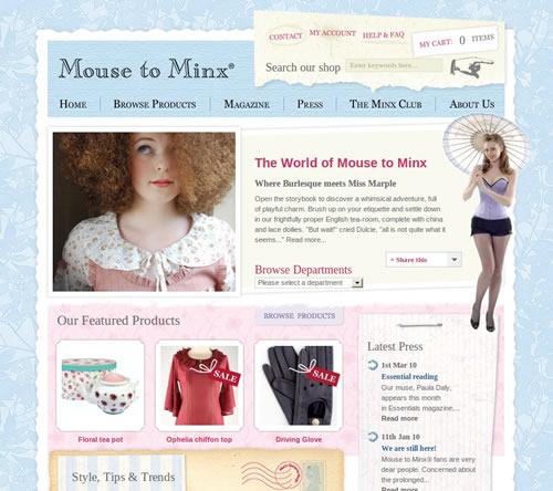 loja online mouse to minx