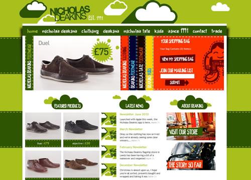 loja online nicholas deakins