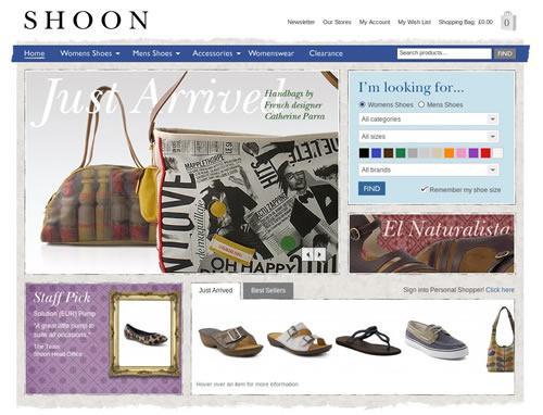 loja online shoon