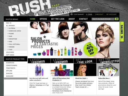 loja online rush shop