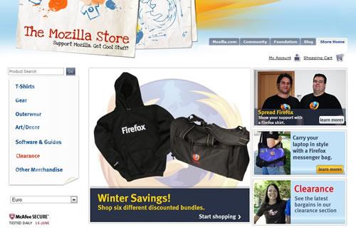 loja online the mozilla store