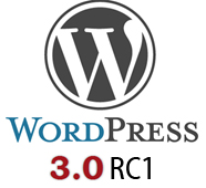 WordPress 3.0 RC1
