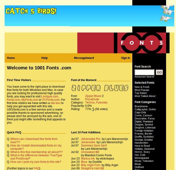 17 Websites Para Download De Fontes Grátis