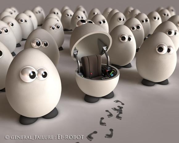 Ei Robot by ReginaldBull
