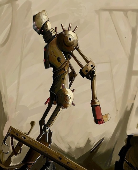 Robot by onishade