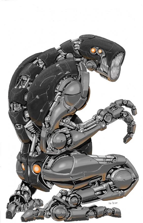 Robot 01 by nancynismo