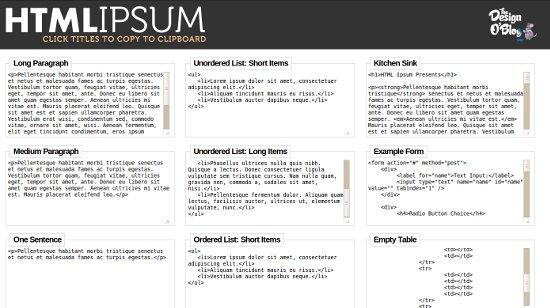 htmllipsum
