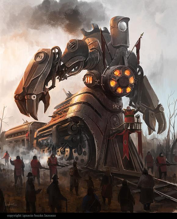 railway engine centaur by neisbeis