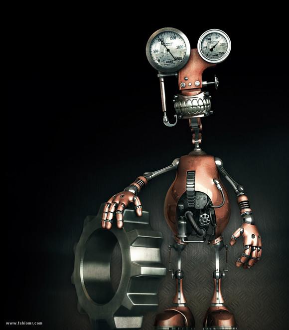 30 Imagens Fantásticas De Arte Robótica