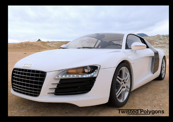 Audi R8 Twistedpolygon by vijosh