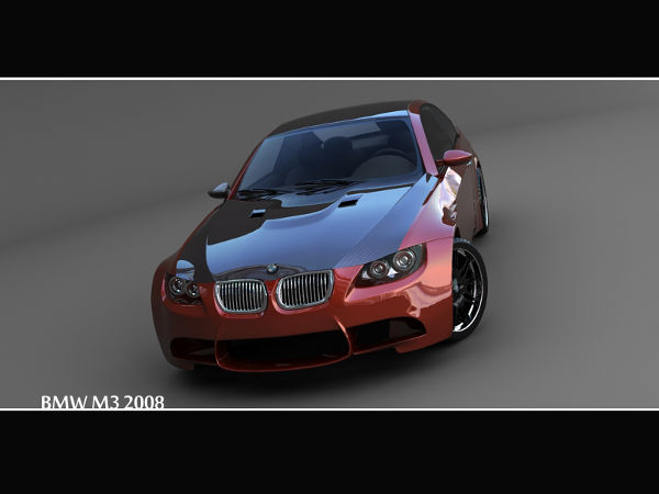BMW m3 front by LMAOLMAO