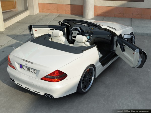 Brabus Benz rear by dangeruss
