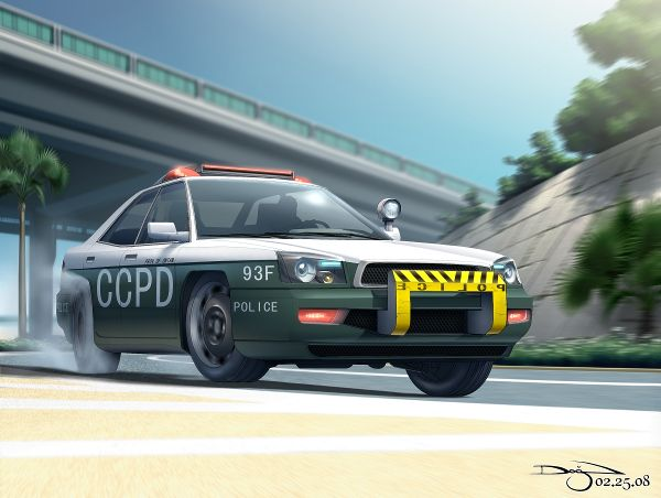 CCPD Patrol Car by Omar Dogan
