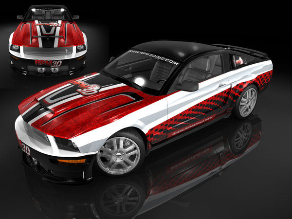 Concept Mustang 18 by nascar3d