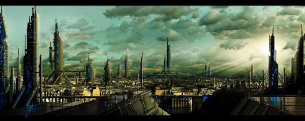 Matte Painting 4 by astrokevin