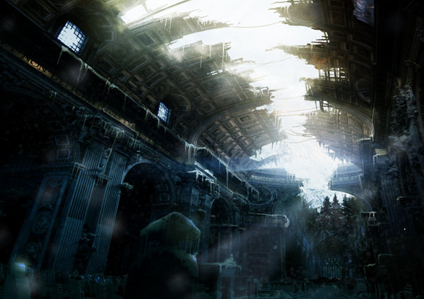 Matte Painting Paranoia n4 by Grivetart
